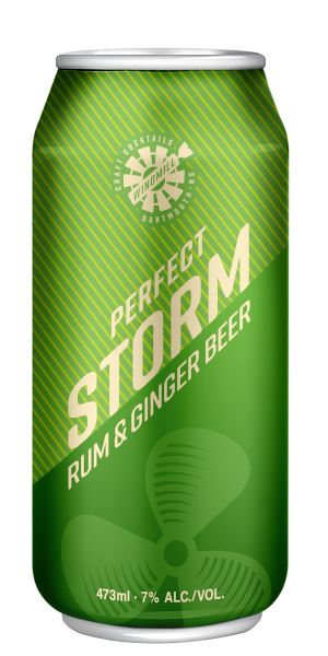 A product image for Windmill CC Perfect Storm Rum &Ginger
