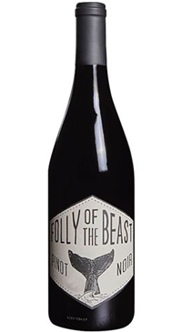 A product image for Folly of the Beast Pinot Noir