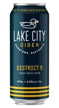 A product image for Lake City District 5 Cider