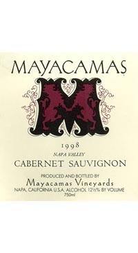 A product image for Mayacamas 1998 Cabernet Sauvignon