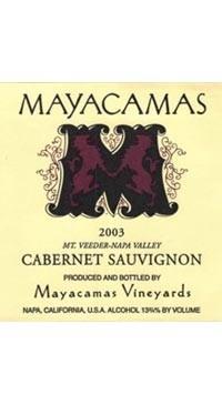 A product image for Mayacamas Cabernet Sauvignon 2003