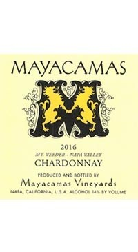 A product image for Mayacamas Chardonnay