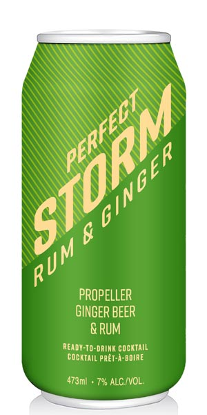 A product image for Windmill Craft Cocktails Perfect Storm Rum & Ginger