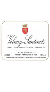 A product image for Robert Ampeau Volnay 1er Cru