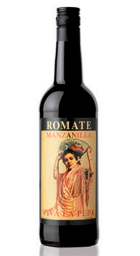 A product image for Romate Viva La Pepa Manzanilla