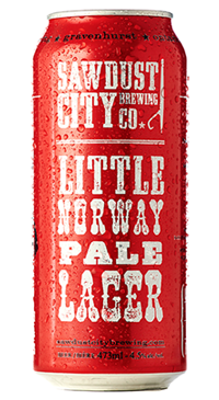 A product image for Sawdust Little Norway Lager