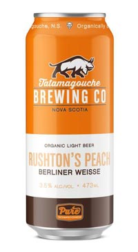 A product image for Tata Rushtons Peach Berliner Weisse