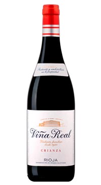 A product image for Vina Real Crianza