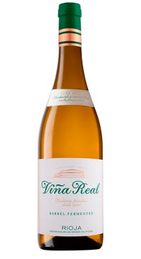 A product image for Vina Real Blanco