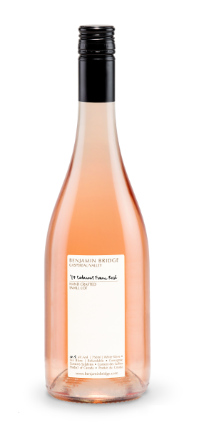 A product image for Benjamin Bridge Cab Franc Rose  Small Lot