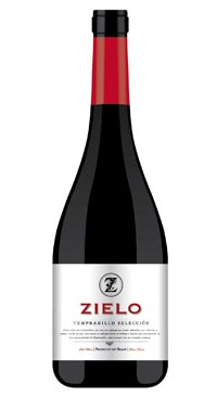 A product image for Vina Zielo Tempranillo