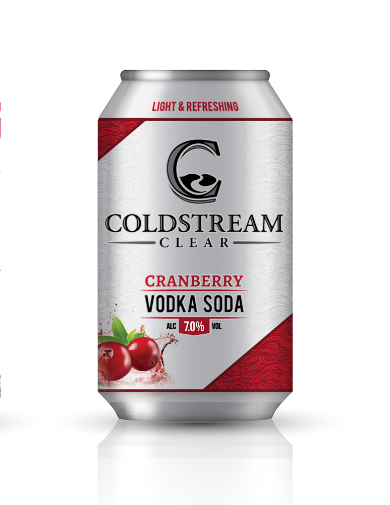 A product image for Coldstream Cranberry Vodka Soda 6pk
