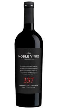 A product image for Noble Vines 337 Cabernet Sauvignon