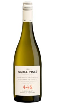 A product image for Noble Vines 446 Chardonnay