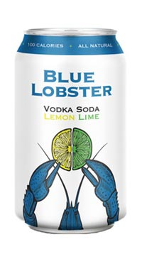 A product image for NS Spirit Blue Lobster Vodka Soda 6pk 355ml