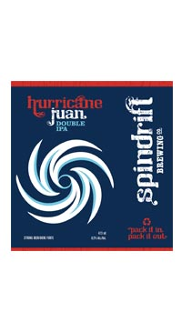 A product image for Spindrift Hurricane Juan DIPA