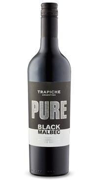 A product image for Trapiche Pure Black Malbec