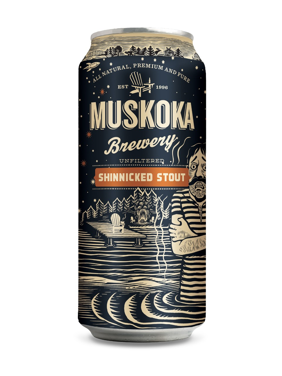 A product image for Muskoka Shinnicked Stout