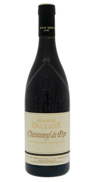 A product image for Domaine Duclaux Chateauneuf du Pape Rouge