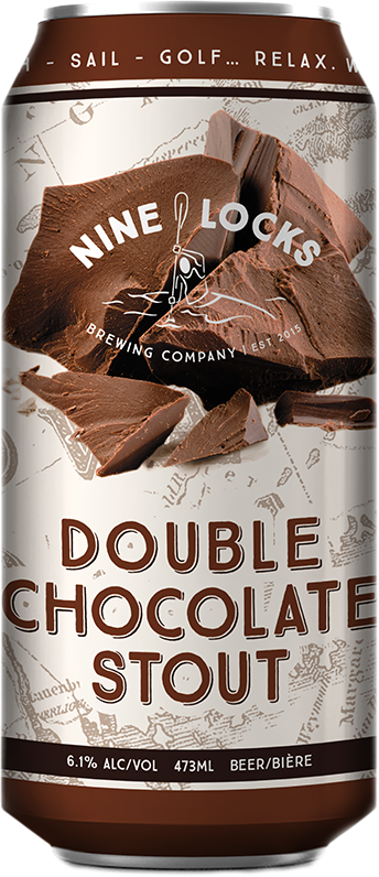 A product image for Nine Locks Double Chocolate Stout