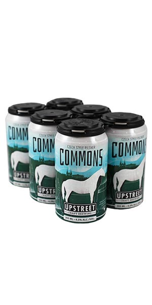 A product image for Upstreet Commons Pilsner 6pk