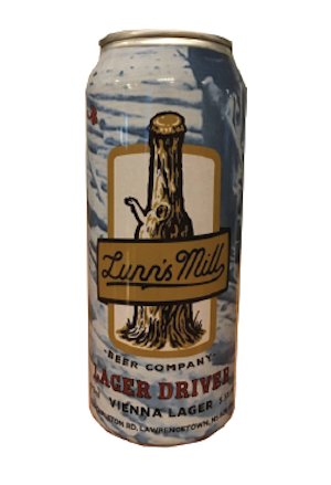 A product image for Lunn's Mill Beer Company Lager Driver