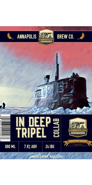 A product image for Annapolis Brewing Tripel