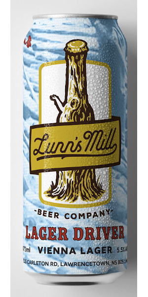 A product image for Lunn's Mill Lager Driver Vienna Lager