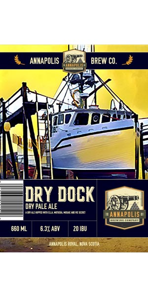 A product image for Annapolis Brewing Dry Dock Pale Ale