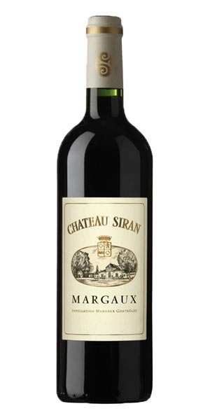 A product image for Chateau Siran Margaux 2014