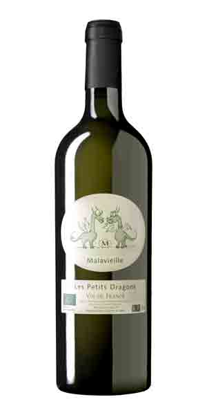 A product image for Domaine de Malavieille Petits Dragons White