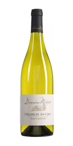 A product image for Domaine Millet Chablis 1er Cru Vaucoupin 2016