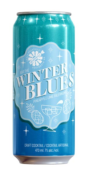 A product image for Windmill Craft Cocktails Winter Blues