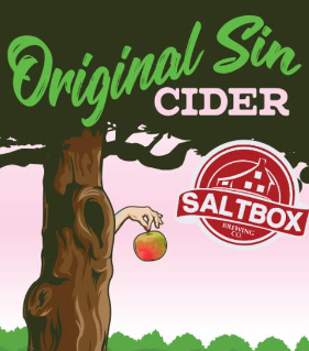 A product image for Saltbox Original Sin Cider