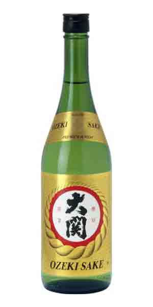 A product image for Ozeki Sake