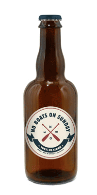 A product image for No Boats On Sunday Original Cider