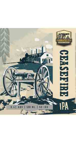 A product image for Annapolis Brewing Ceasefire IPA