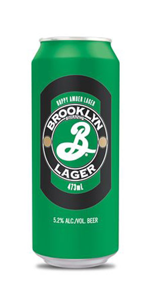 A product image for Brooklyn Lager 473ml