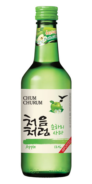 A product image for Chum Churum Apple Soju