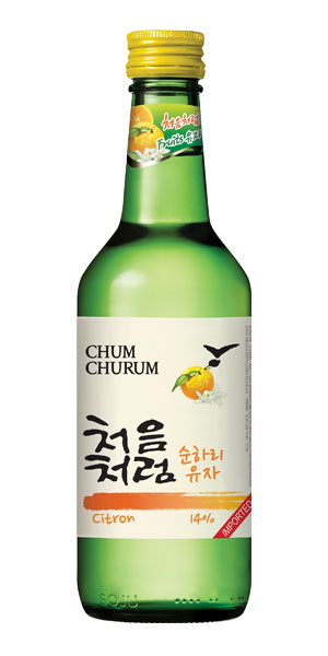 A product image for Chum Churum Citron Soju