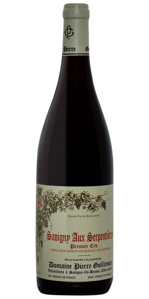 A product image for Pierre Guillemot Savigny Serpentières 1er Cru