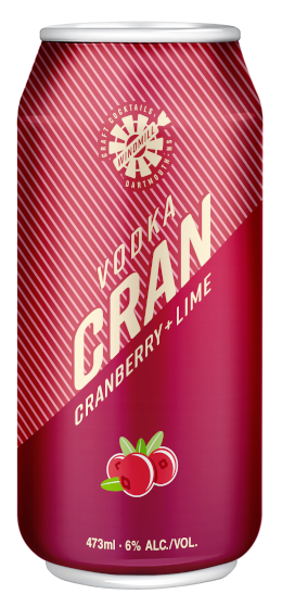 A product image for Windmill CC Vodka Cranberry
