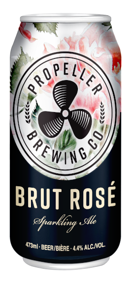 A product image for Propeller Brut Rose Sparkling Ale