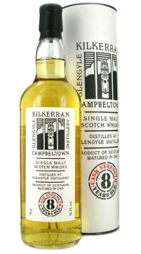 A product image for Kilkerran 8 Year Old Cask Strength