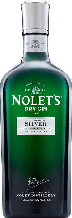 A product image for Nolet's Silver Gin