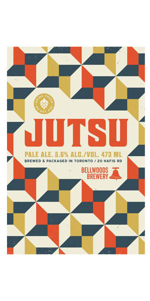 A product image for Bellwoods Jutsu Pale Ale