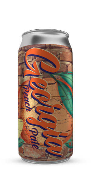 A product image for Garrison Georgia Peach 473 Can