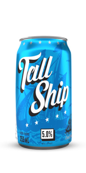 A product image for Garrison Tall Ship Can 355ml X 6 pack