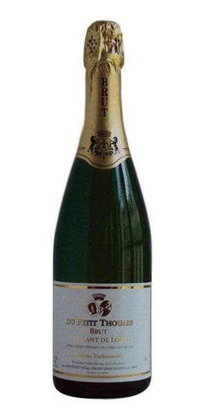 A product image for Petit Thouars Cremant de Loire Brut Blanc