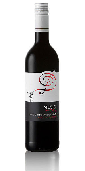 A product image for D'Aria Music Red Blend